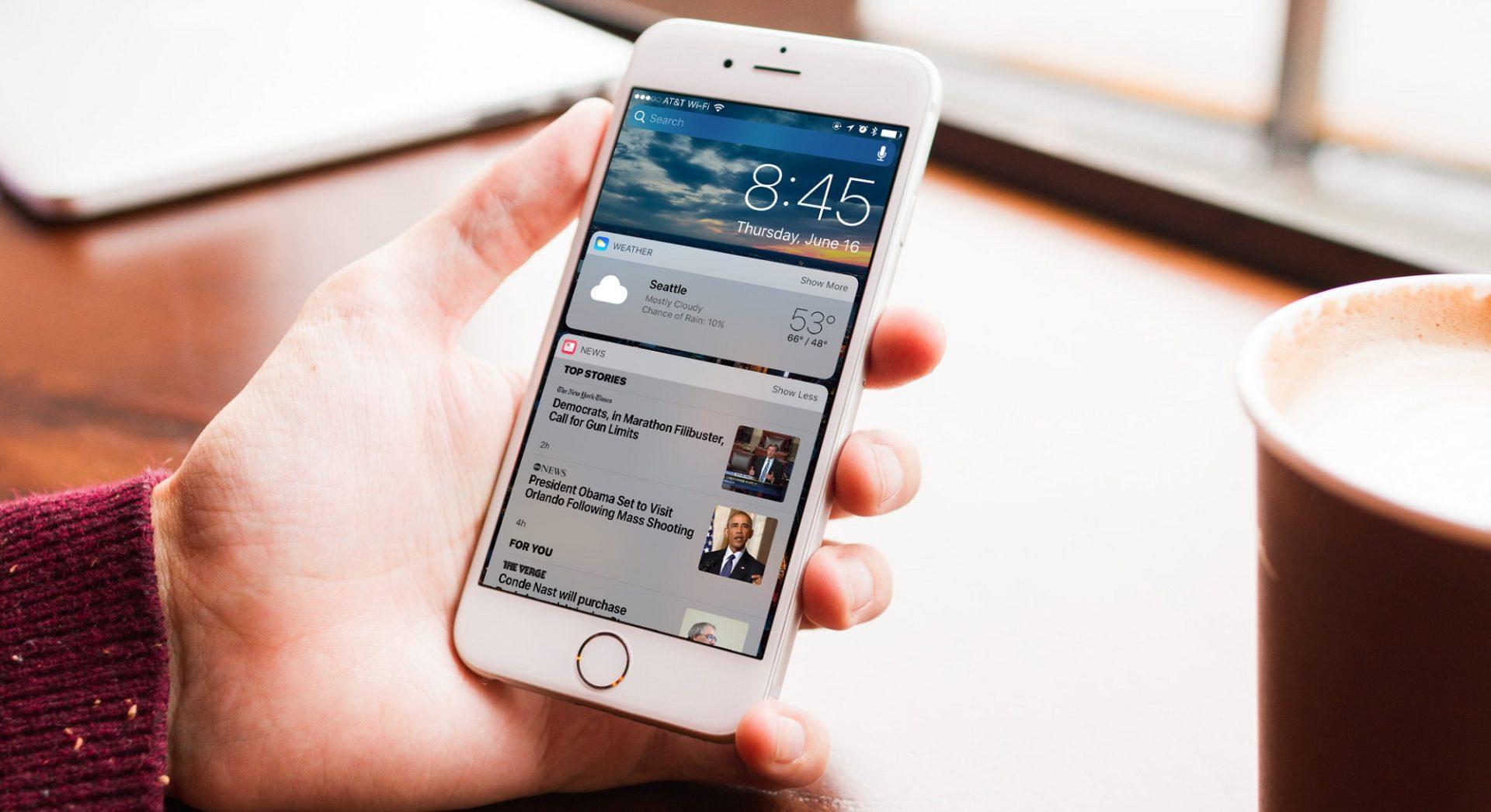 Как сделать баланс на айфоне на экране