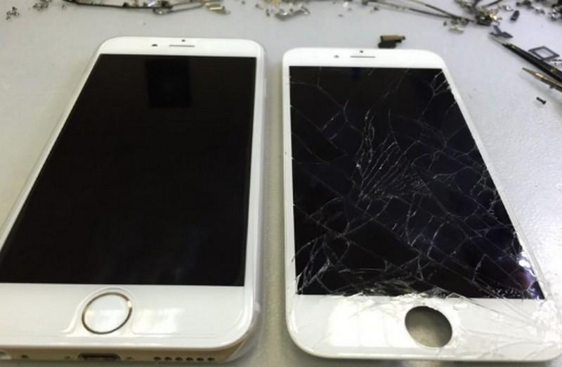 стоимость ремонта айфон 6 замена экрана