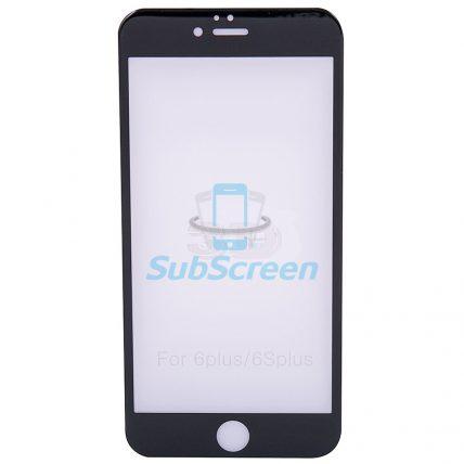 Защитное стекло iPhone 6/6S black